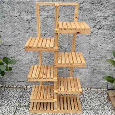 Suporte para vasos de plantas em madeira 13 Suporte para Plantas imagem
