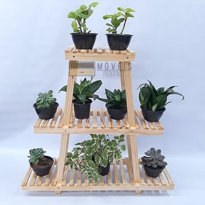 Estante para plantas de madeira Modelo 28 imagem