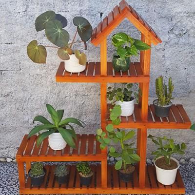 Expositor de plantas Modelo 45 Suporte para Plantas, Expositor de Plantas, Destaque imagem