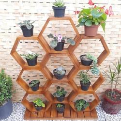 Expositor Para Plantas Modelo 70 nichos