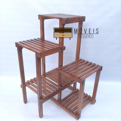 Floreira de madeira modelo 15 imagem
