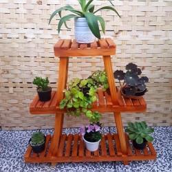 Estante para plantas  Modelo 28 cor Imbuia