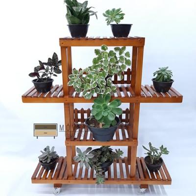 Floreira feito em madeira modelo 34 imagem