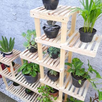 Expositor  de plantas Modelo 50 cor natural