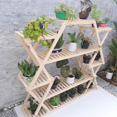 Prateleira para vasos plantas modelo 59 Suporte para Plantas, Expositor de Plantas imagem