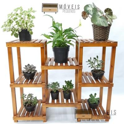 Estante para vasos de Plantas modelo 69 Suporte para Plantas, Expositor de Plantas imagem