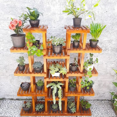Expositor de plantas Modelo 72 jardim vertical Suporte para Plantas, Expositor de Plantas imagem