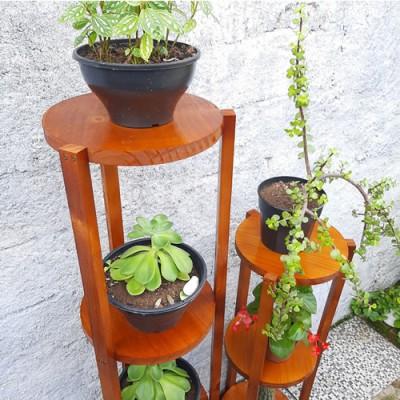 Floreira de chão modelo 76 Suporte para Plantas, Expositor de Plantas, Floreiras de Chão imagem
