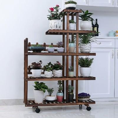 Floreira estante para plantas modelo 84 imagem