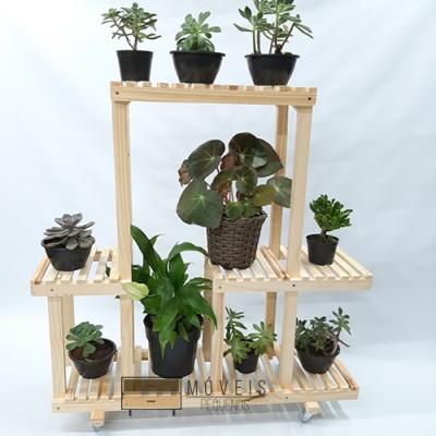 Expositor para  vasos de plantas e suculentas 87
