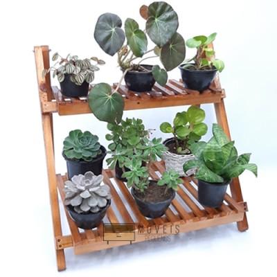 Organizador e expositor de vasos de plantas e suculentas 97 Suporte para Plantas, Expositor de Plantas imagem