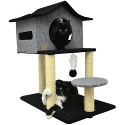 Arranhador Casa De Cuco Para Gato