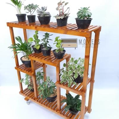 Floreira Vertical, estante para plantas modelo 91 imagem
