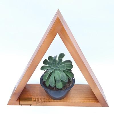 Nicho triangular estilo rustica imagem