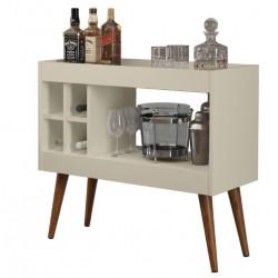 Aparador Bar Com Adega Laguna - Off White - Rpm Móveis