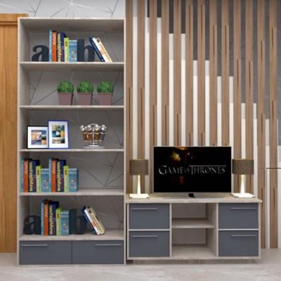 Rack e estante frente cor cinza Prateleiras, Projetos imagem