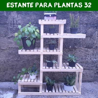 Estante para Plantas 32 Suporte para Plantas, Expositor de Plantas imagem