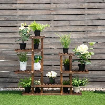 Prateleira para plantas jardim 36