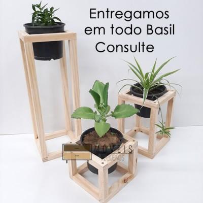 Suporte quadrado para vasos de plantas Suporte para Plantas, Entregas no Brasil imagem