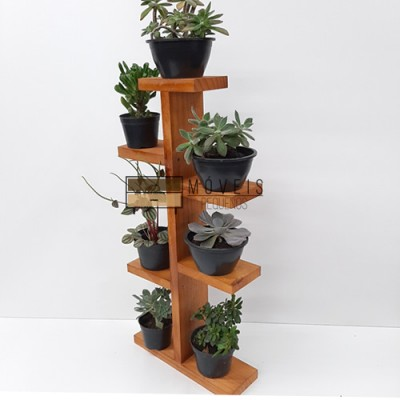 Prateleira para suculentas, flores e plantas 03 Suporte para Plantas, Entregas no Brasil imagem