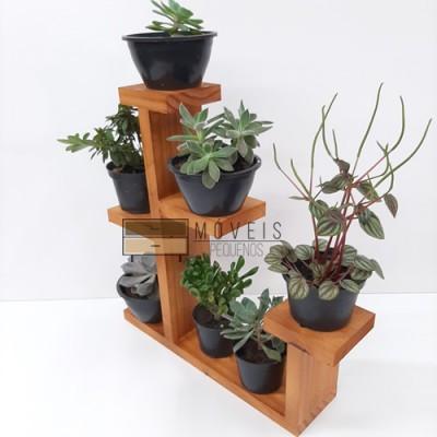 Prateleira para suculentas, flores e plantas 04 imagem