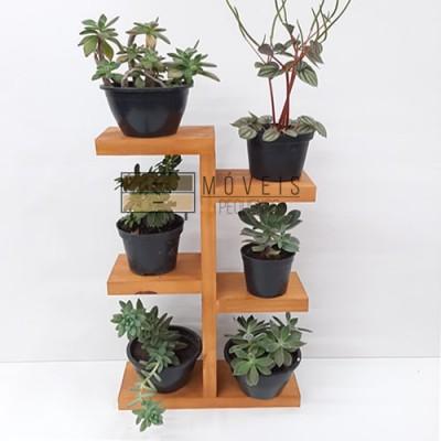 Suporte para suculentas, flores e plantas 05 Suporte para Plantas, Entregas no Brasil imagem