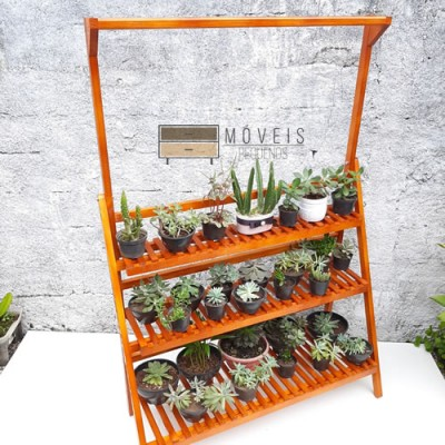 Estante para Vasos e plantas modelo 81 Expositor de Plantas imagem