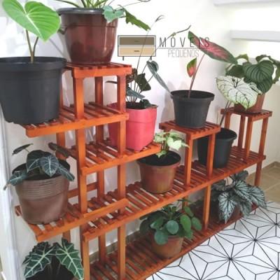 Suporte para Vasos e plantas madeira modelo 82 imagem