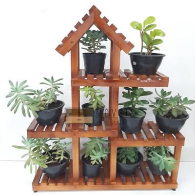 Mini suporte para suculentas e flores modelo 10 Suporte para Plantas, Expositor de Plantas, Entregas no Brasil imagem